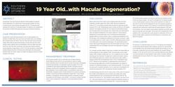 19 Year Old…with Macular Degeneration