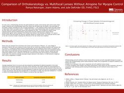 Comparison of Orthokeratology vs. Multifocal Lenses Without Atropine for Myopia Control