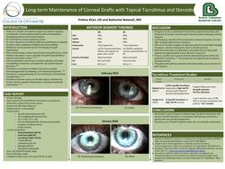 Long-term Maintenance of Corneal Grafts with Topical Tacrolimus and Steroids
