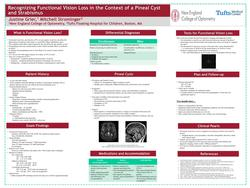Recognizing Functional Vision Loss in the Context of a Pineal Cyst and Strabismus