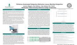 Perfectus Automated Subjective Refraction versus Manifest Subjective
