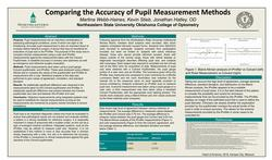Comparing the Accuracy of Pupil Measurement Methods