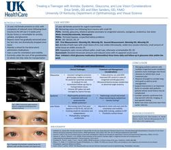 Management of a Teenager with Aniridia: Systemic, Glaucoma, and Low Vision Considerations