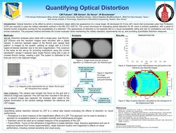 A Novel Method for Optical Distortion Quantification