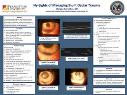 Hy-lights of Managing Blunt Ocular Trauma