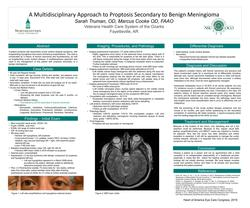 A Multidisciplinary Approach to Proptosis Secondary to Benign Meningioma