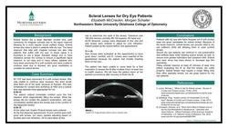 Scleral Lenses for Dry Eye Patients