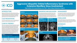 Aggressive Idiopathic Orbital Inflammatory Syndrome with Extensive Maxillary Sinus Involvement