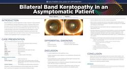 Bilateral Band Keratopathy in an Asymptomatic Patient